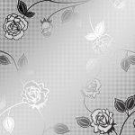 Розы II серебро Z-6014-SR