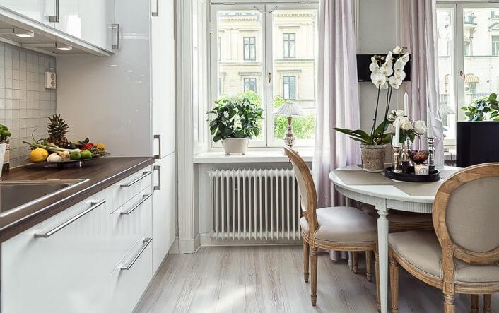 Кухни скандинавский стиль
